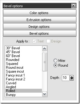 bevel-options