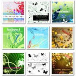 42 Free Nature And Floral Photoshop Brush Sets