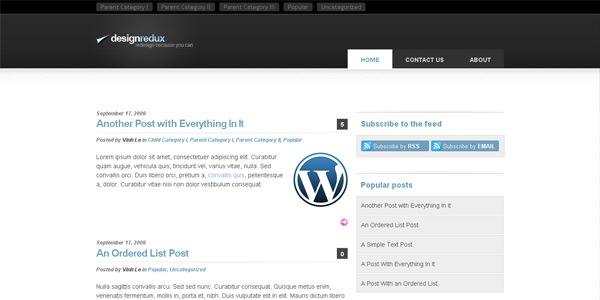 design-wordpress-theme
