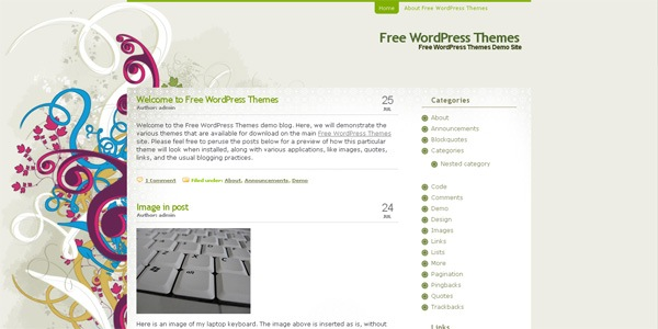 elegant-wordpress-theme