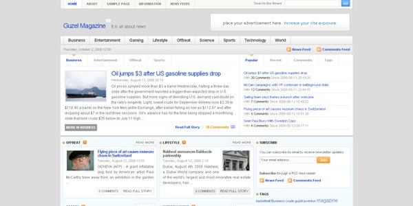 guzel-wordpress-theme