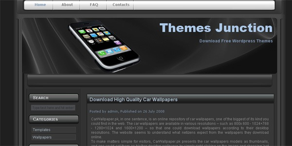 iphone-wordpress-theme