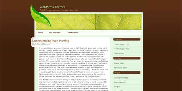 leaf-wordpress-design