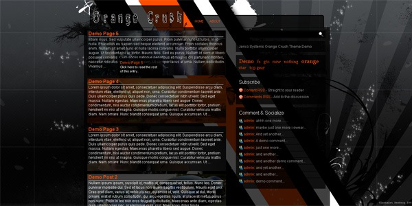 orange-wordpress-theme