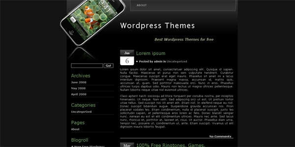 phone-wordpress-template