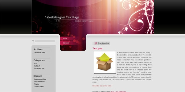 purple-wordpress-theme