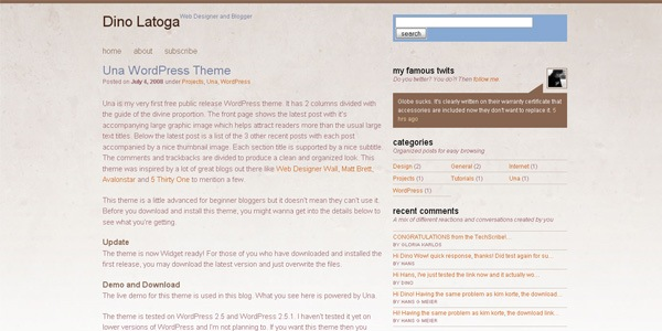 una-wordpress-theme