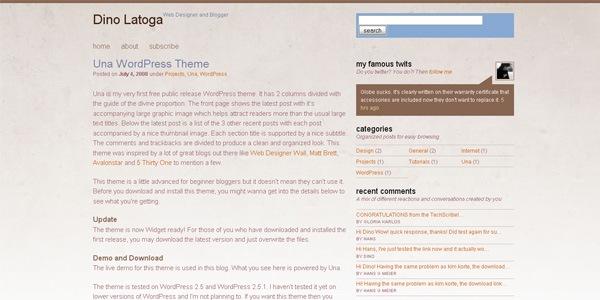 una-wordpress-theme
