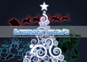 Christmas_brushes