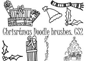 48 Brushs về Tuyết, Băng, Mùa đông, Giáng Sinh - Image 46