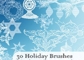 holiday-brushes