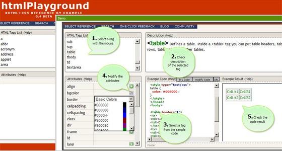 htmlplayground