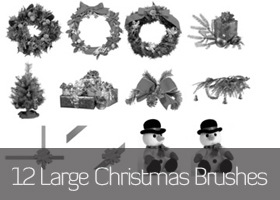 Large_Christmas_Themed_Brushes