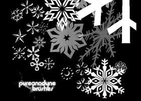 48 Brushs về Tuyết, Băng, Mùa đông, Giáng Sinh - Image 22