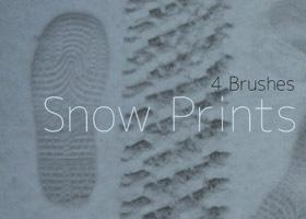 snow-print
