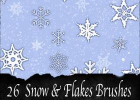 snow-snowflakes