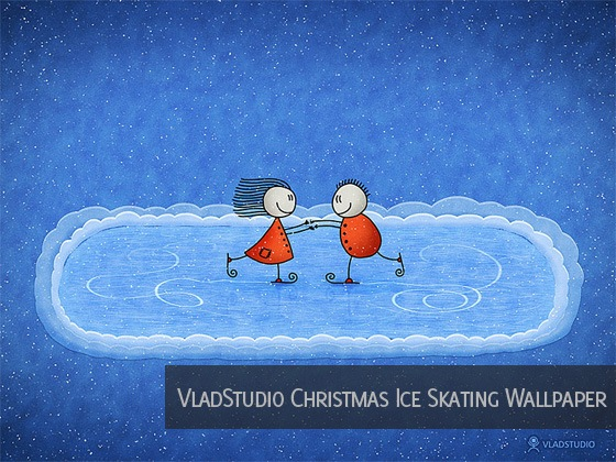 vladstudio wallpaper. VladStudio Christmas Ice