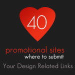 40 Promotional Sites Where To Submit Your Design Related Links
