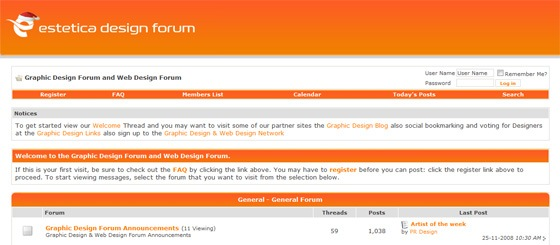 Sensational List Of 25 The Best Design Worldwide Forums