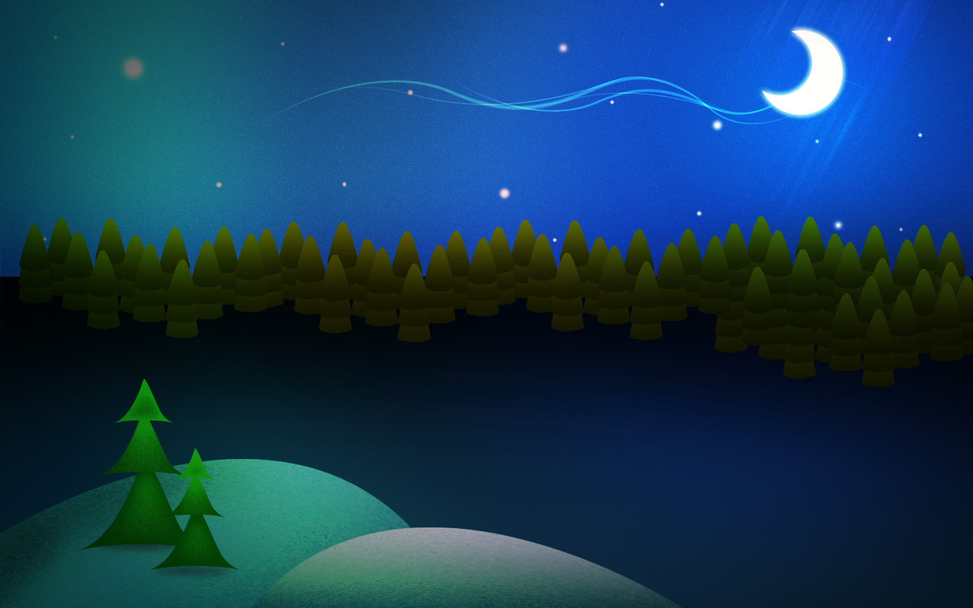 Night Before Christmas : Photoshop Tutorial And WallPaper