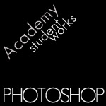 Academy Student Photoshop Works: Poster, Journal and Logotype