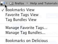 Delicious Bookmarks Preview
