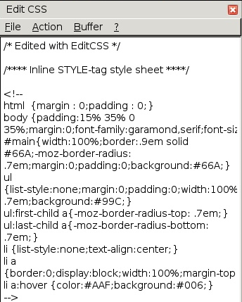 EditCSS