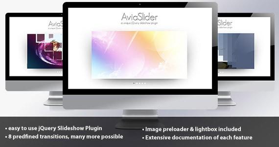 AviaSlider - jQuery Slideshow
