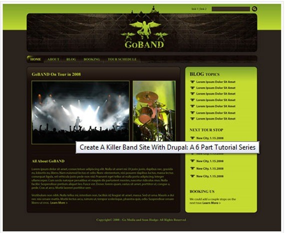band-site-and-drupal-tutorial