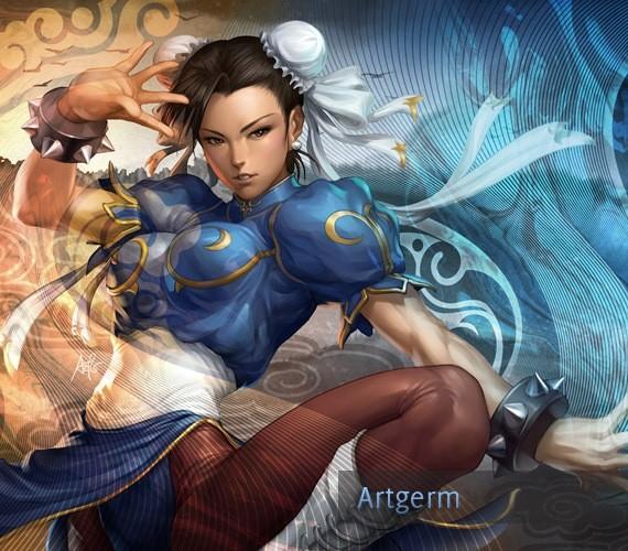 chunli-style-illustration