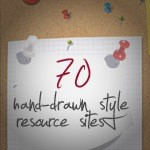 70 Hand Drawing Style Resources, Brushes, Textures,Icons And Tutorials