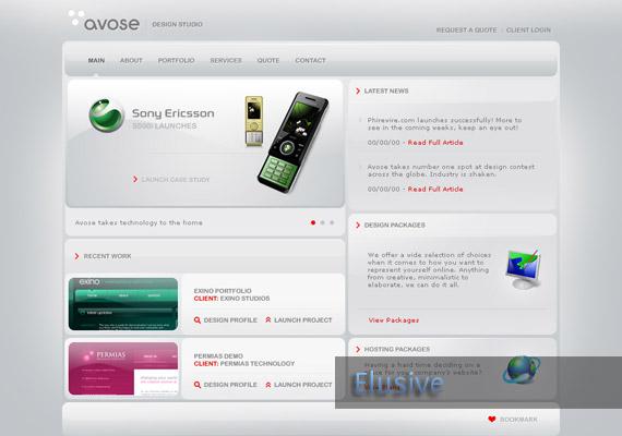 avose-website-inspiration
