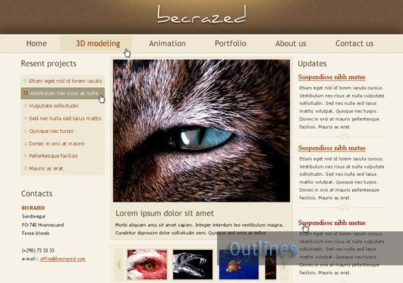 40个值得关注的网页设计