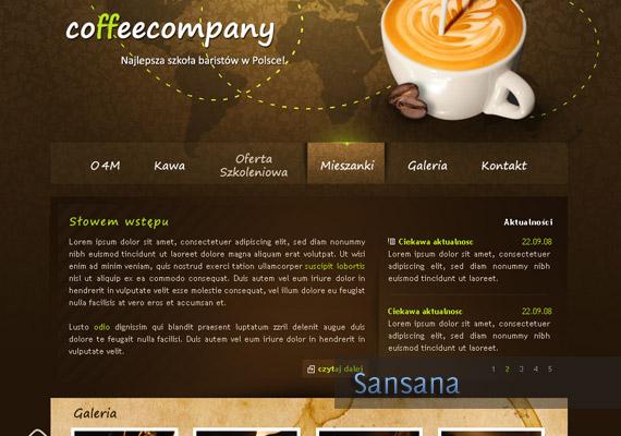 Coffee Company design-inspiration