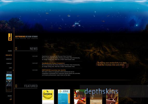 Depthskins Design Studio inspiration