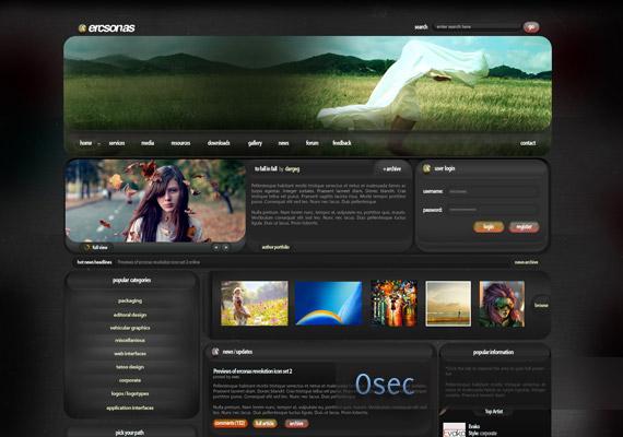 ercsonas webdesign-inspiration