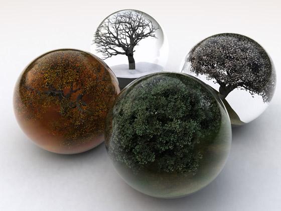 Four Seasons-wallpaper