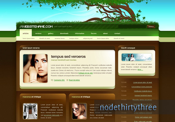 green-brown-web-design-inspiration
