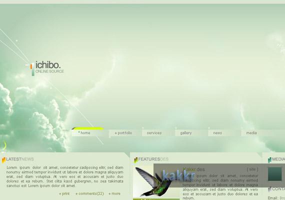 ichibo web-design-inspiration