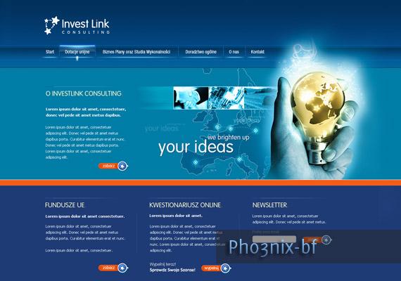 InvestLink Layout design-inspiration