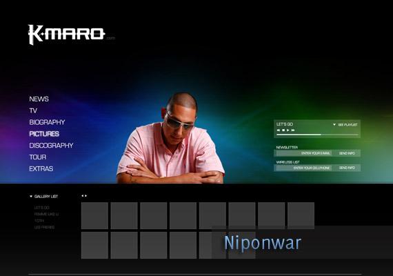 KMARO Rebuilt portfolio-page