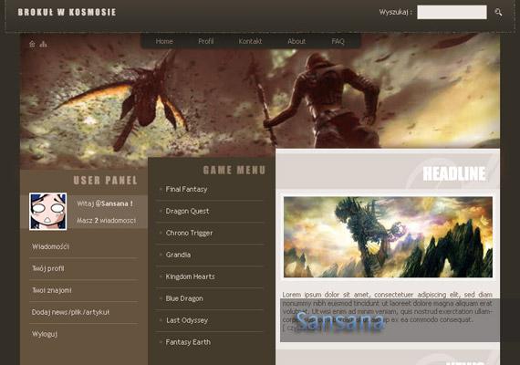 Last Odyssey website-design