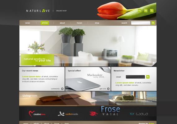 naturluv webdesign-inspiration