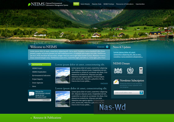 NEIMS webdesign-inspiration