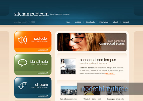 Template 1 for 4T web-design-inspiration