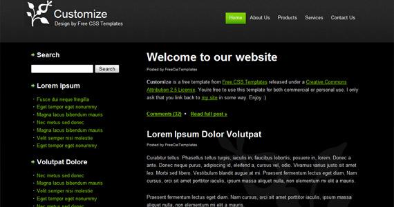 customize-xhtml-css-template