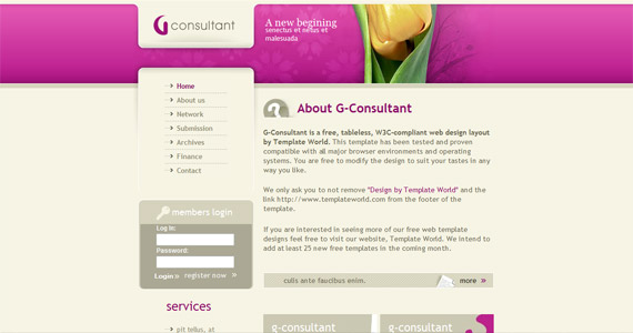 g-consultant-xhtml-css-template