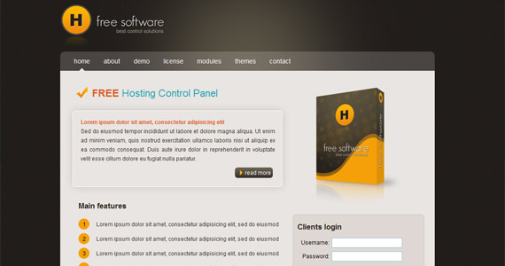 h-software-xhtml-css-template