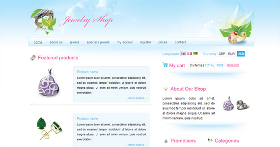 jewelry-shop-xhtml-css-template