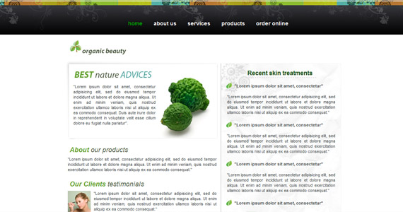 organic-beauty-xhtml-css-template